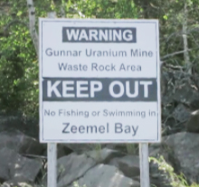 Photo of a Boaters Keep Out sign